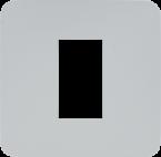 Modlink MSDD Flanschplatte 1-fach Metall