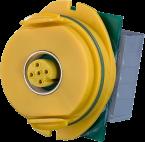 Modlink MPV Datensteckverbindereinsatz gelb