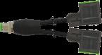 M12 Y-Verteiler auf MSUD Ventilst. BF BI 11mm