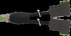 M12 Y-distributor / MSUD valve plug form C 8mm