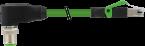 M12 St. 90° 180°/ RJ45 0° geschirmt Ethernet