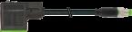 M8 St. ger.3pol. auf MSUD Ventilst. BF BI 11mm