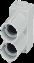 Pneumatikmodul - Buchse & Stift, 2-polig