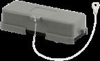 A16 Schutzkappe (Kunststoff/Längsverriegelung)