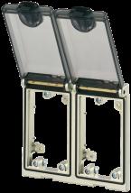 Modlink MSDD Einbaurahmen 2-fach Metall