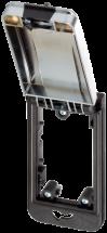 Modlink MSDD Einbaurahmen 1-fach metallic