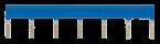 Potentialschiene blau für MIRO 6,2