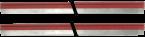Mico Pro Endlossteckbrücke 2x rot