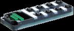 Exact12, 8xM12, 4-pol., Grundmodul NPN-LED