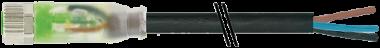 M8 Bu. 0° LED freies Ltg.-ende