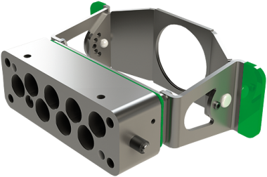 MODL. VARIO 8-way rectangle coupling housing