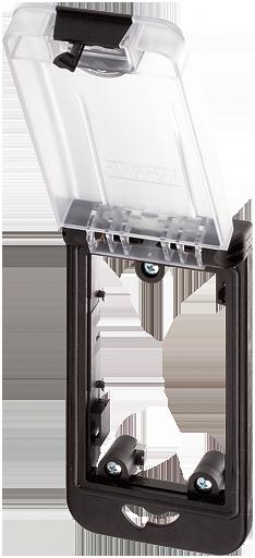 Modlink MSDD Einbaurahmen 1-fach transparent