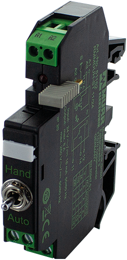 RMMDAH-CTL 11/24 OUTPUT RELAY WITH TOGGLE SWITCH
