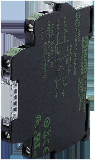 MIRO,TR,24VDC,24VDC 6A SK Optokopplermodul