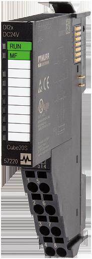 CUBE20S Analog output module AO4