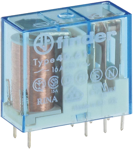 RELAY24V DC-2U(8A) FOR RTS-2FI