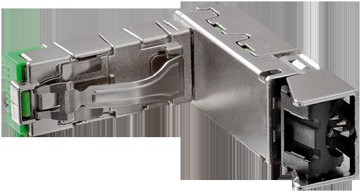 Entfernungsmesser Profinet S Profinet Io Professional: RJ45 Heavy Duty Stecker 90° Unten 8 Pol. Ethernet Im