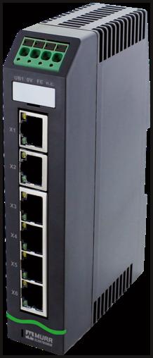 Xelity 6TX Unmanaged Switch 6 Port 100Mbit