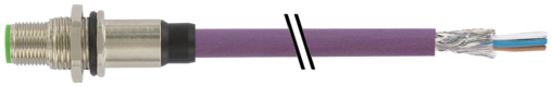 M12 St. Flansch HMW DeviceNet