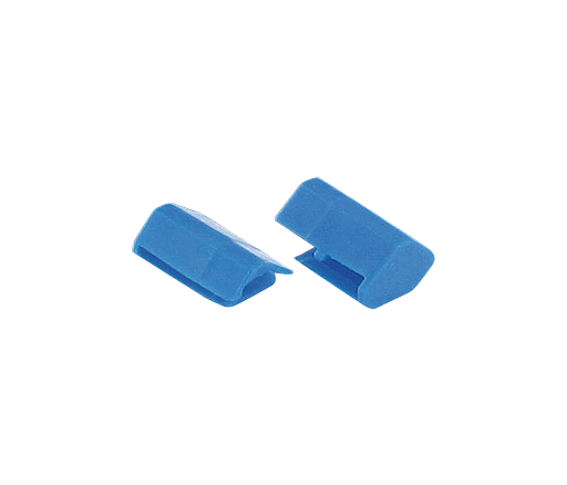 Endkappen blau für Potentialschiene