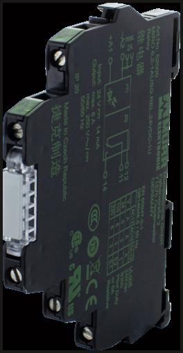 MIRO TR 24VDC SK,5P Optokopplermodul
