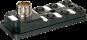 MVP12-V, 6XM12, 4POLE, M23 12POL. CON.