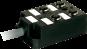 PASSIVE-DI0° PLASTIC,4XM12.4POL,PRE-WIRED CABLE