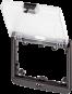 Modlink MSDD Einbaurahmen 2-fach transparent
