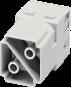 Stiftmodul, 2-polig, Axialschraubanschluss
