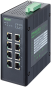 8 Port unmanaged Gigabit Switch 4 PoE Ports IP20 metal