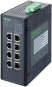 8 Port unmanaged Gigabit Switch 8 PoE Ports IP20 metal