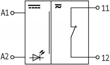 RMMR 11/24 VAC/DC Ausgangsrelais